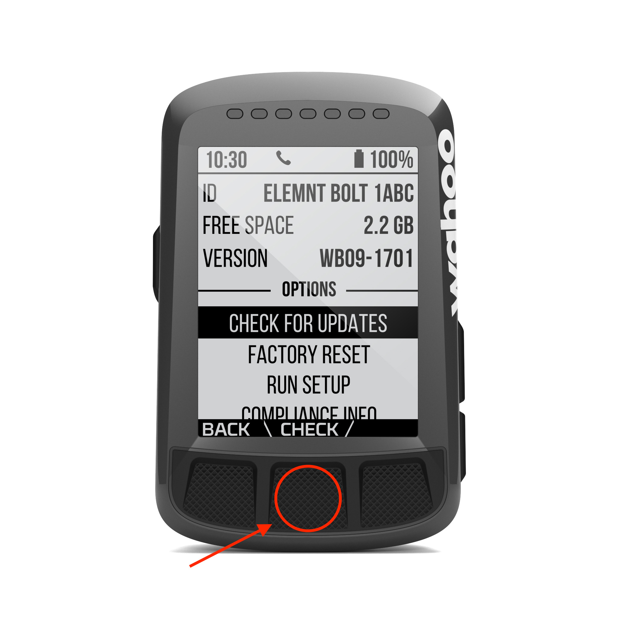 How do I update the ELEMNT BOLT? – Wahoo Fitness Support